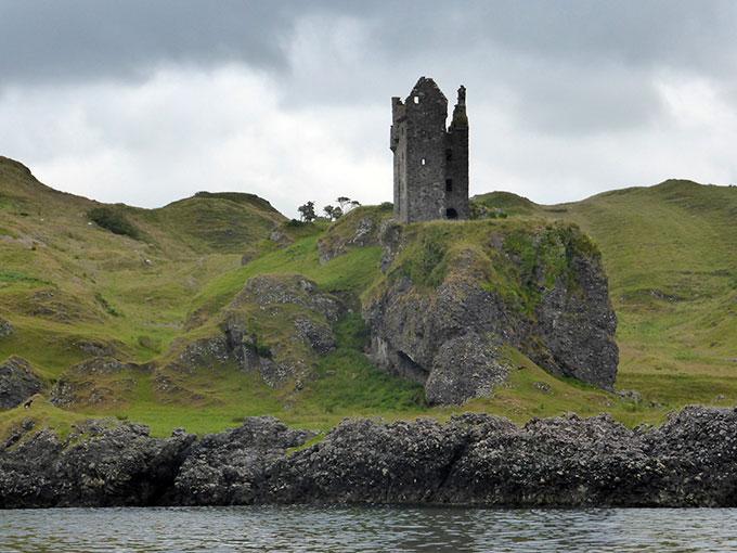 gylen castle is located - photo #12
