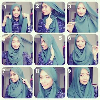 trend hijab terbaru modern