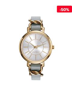 Ceas elegant dama auriu Esprit Beige ES109342002