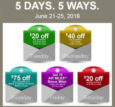 Staples 5 Days of Deals