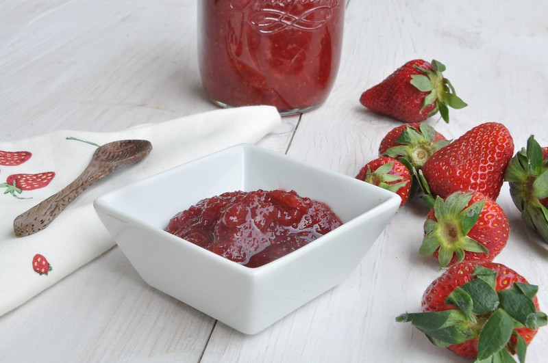 Apple and Strawberry Jam with Thermomix