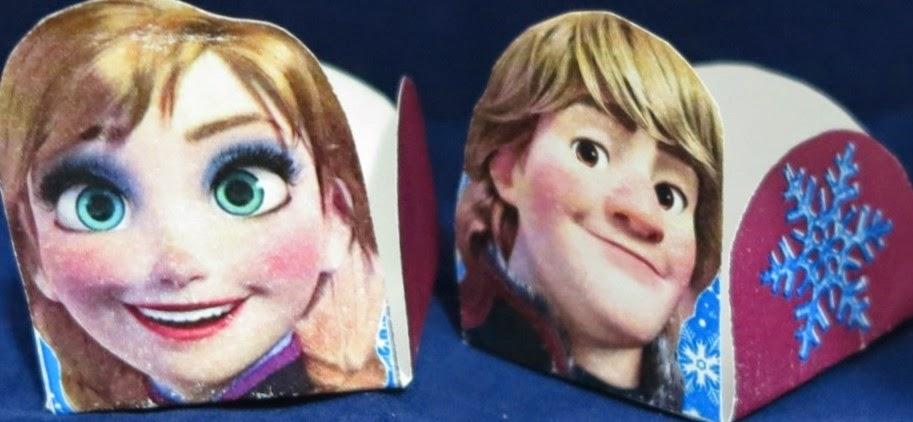 Frozen: Lindas Cajas Abiertas para Imprimir Gratis.