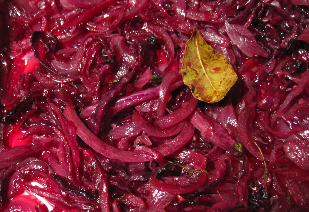 Red Cabbage Braised with Port