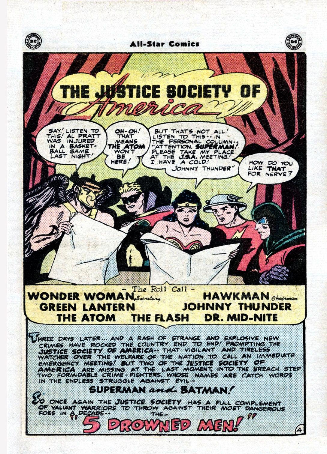 Read online All-Star Comics comic -  Issue #36 - 6