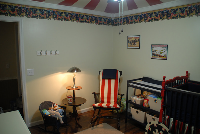 Our Version Of A Fairy Tale Our Vintage Circus Nursery