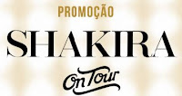 Promoção Shakira Perfumes On Tour promocaoshakiraperfumes.com.br