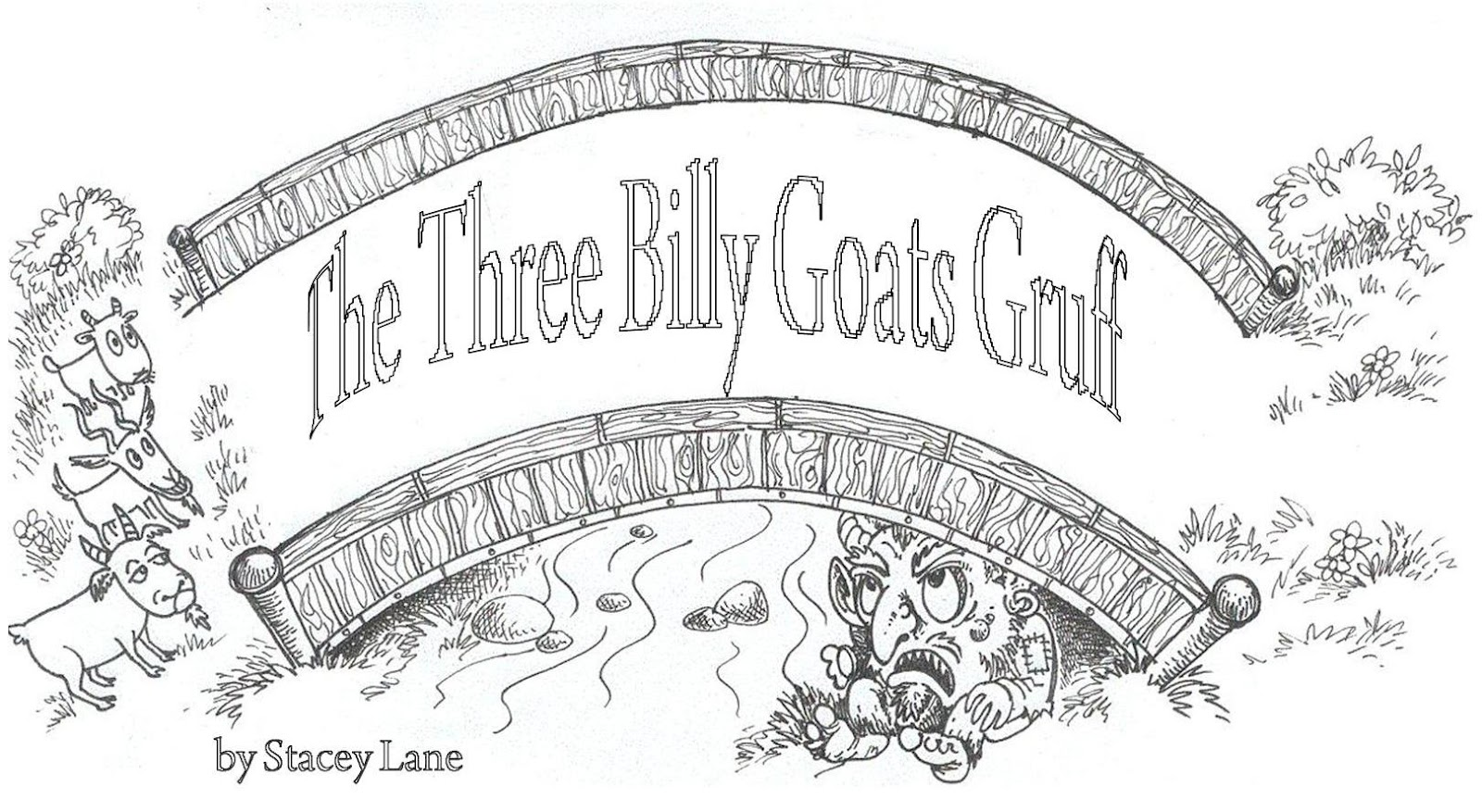 Plays By Stacey Lane The Three Billy Goats Gruff Plays