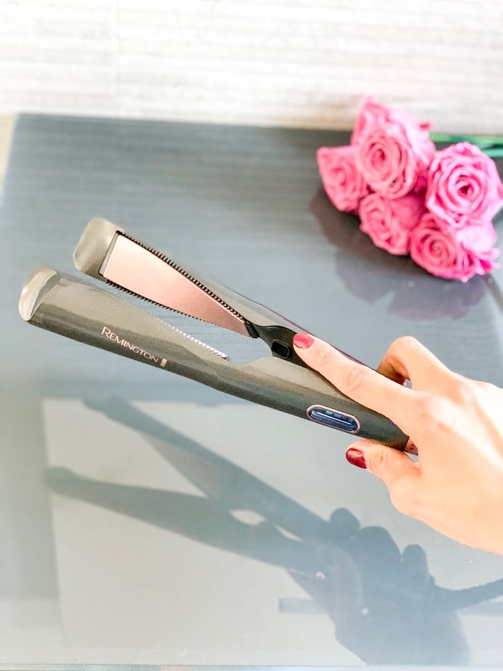 Curl & Straight Confidence di Remington: piastra a spirale 2 in 1