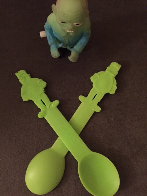 Fro-Yo Girl Speaks: Plants vs  Zombies GW2 at Menchie's: Plants Spoons