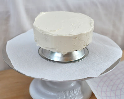 How Much Icing To Cover  Inch Cake Board