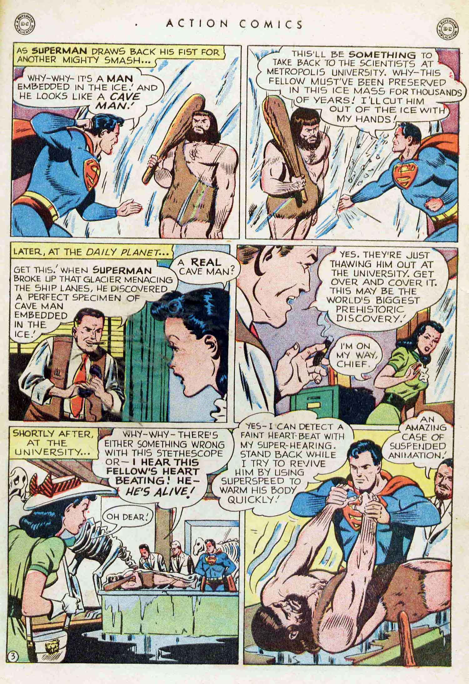 Read online Action Comics (1938) comic -  Issue #129 - 4