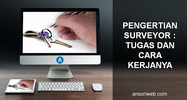 Pengertian Surveyor : Tugas dan Cara Kerjanya