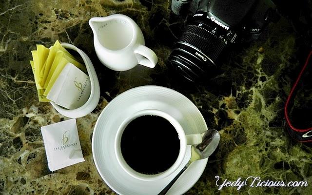 Coffee at Al Fresco Dining Hall of B Hotel Alabang