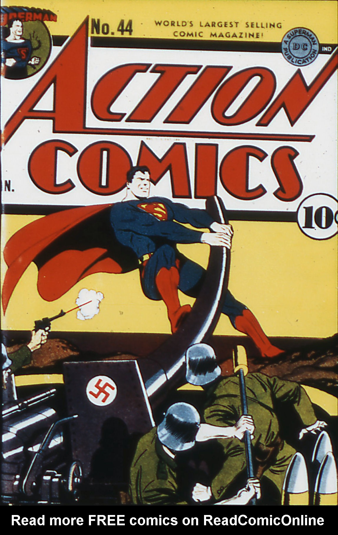 Read online Action Comics (1938) comic -  Issue #44 - 1