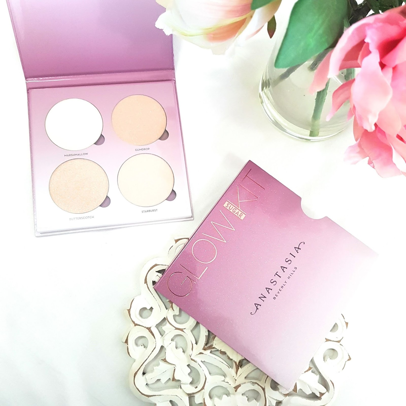 Anastasia Sugar Glow Kit - Vegan Makeup  - Best highlighters