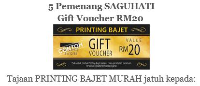 Menang Beba Ifa 2nd Giveaway Raya!