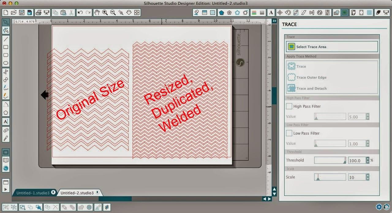 How to Fill a Silhouette Design or Text With a Cuttable Background (Free Studio Cut File), Silhouette Studio