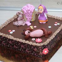 Tortas Decoradas con Masha y el Oso 2