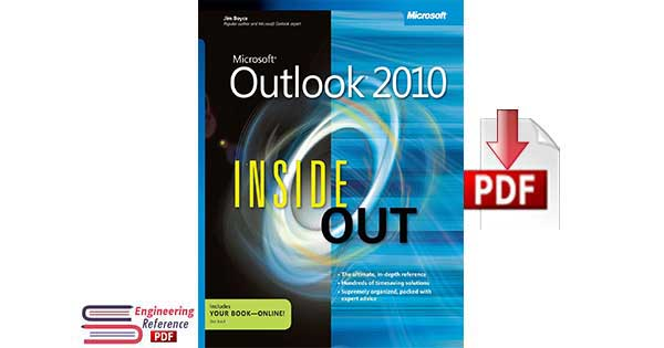 Microsoft® Outlook® 2010 Inside Out 1st edition by Jim Boyce free pdf download