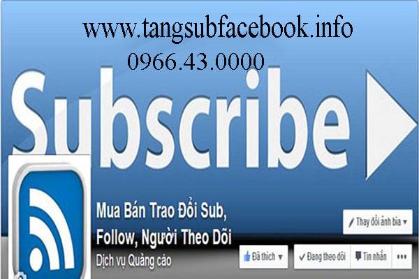 Tang subscribe tren facebook