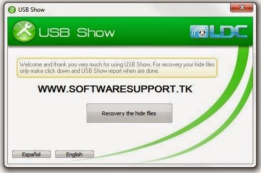 USB Show: Recover Corrupt USB Data