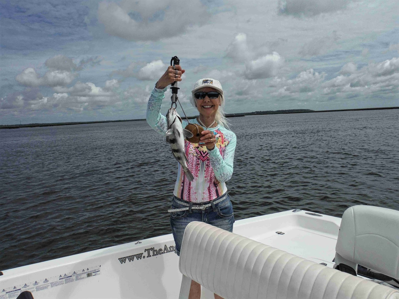 Amelia island fishing reports lucky shirt big red and for Fat nancy s fishing report