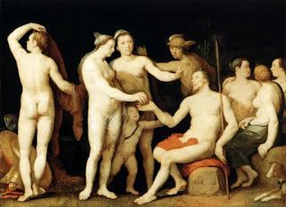 Корнелис Корнелиссен Cornelis van Haarlem Суд Париса