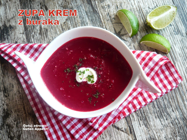 Zupa krem z buraka - Czytaj więcej »