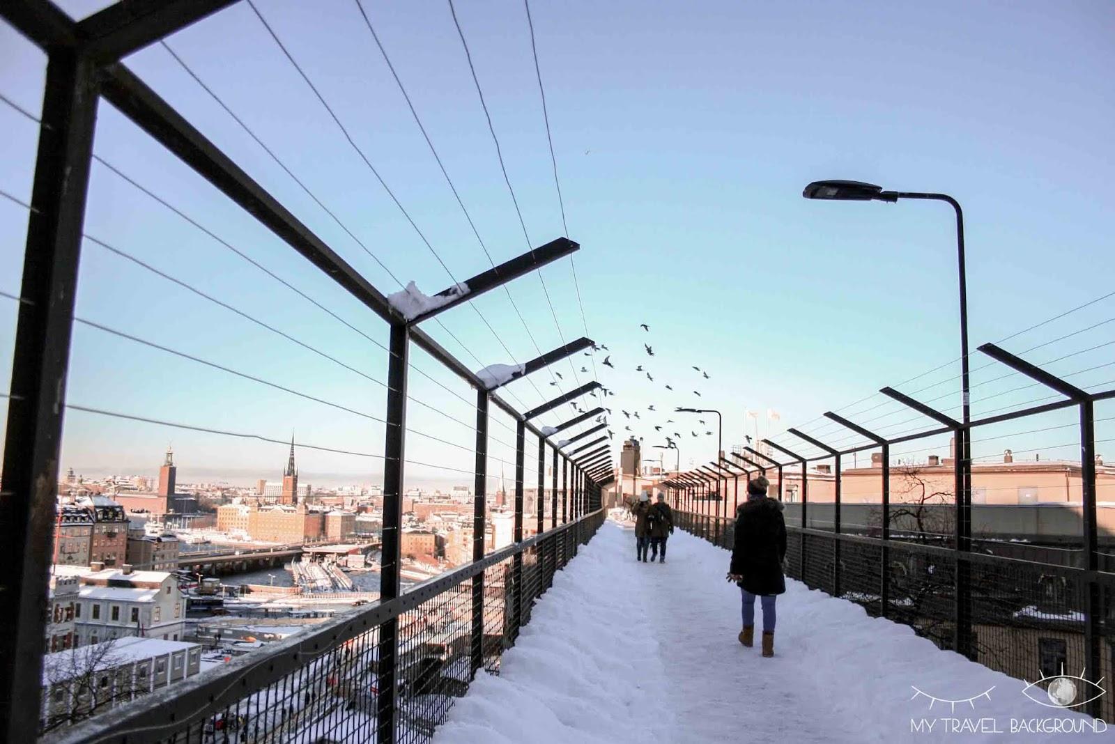 My Travel Background : photographier Stockholm : où trouver les plus belles vues ?  - Ascenseur Katarina