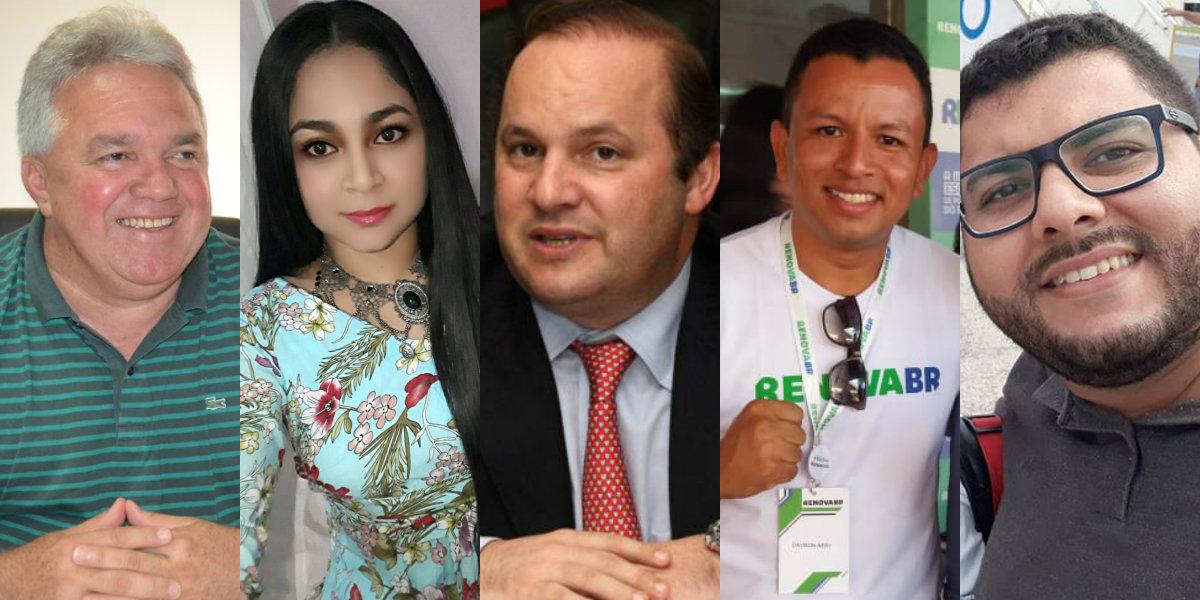 Holofotes em 5 VIPs. Welton Luciano, Helenilson Pontes, Jailson e Regiane Pimentel