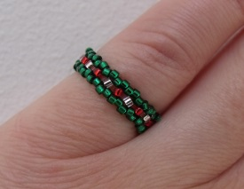seed bead ring