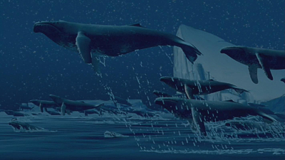Flying Whales Fantasia 2000 1999 animatedfilmreviews.filminspector.com