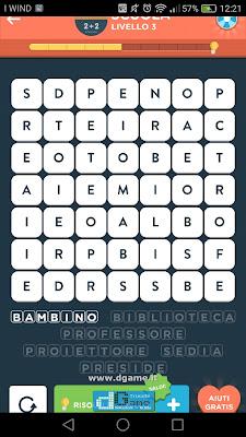 WordBrain 2 soluzioni: Categoria Scuola (7X7) Livello 3
