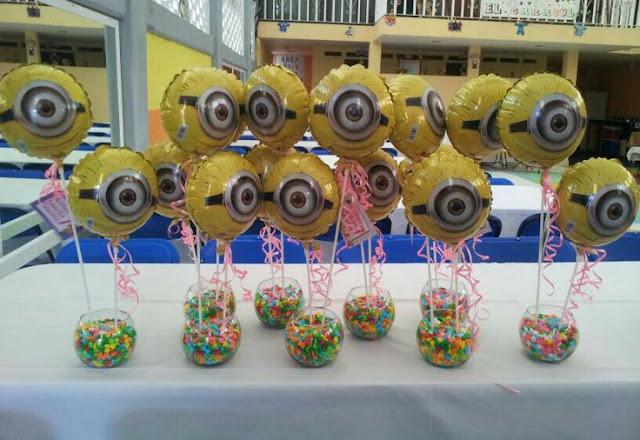 Balões minions