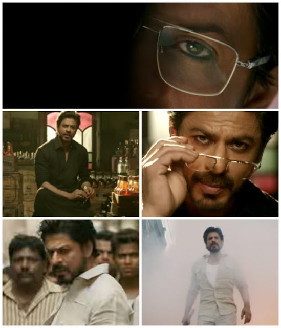 raees announcement - srk - RaeesTrailerAaRahaHai