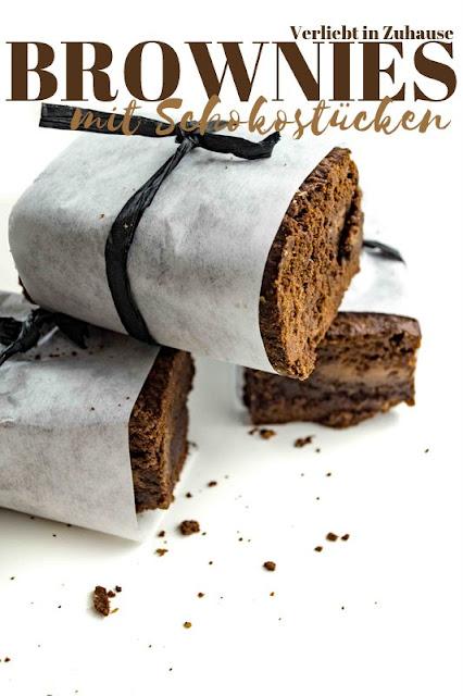 Amerikanische Brownies mit Schokolade: Einfaches Rezept auch für eine Back-Mischung als Geschenk im Glas