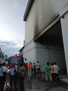 Pusat Perbelanjaan Binjai Super Mall (BSM) Dilalap Sijago Merah