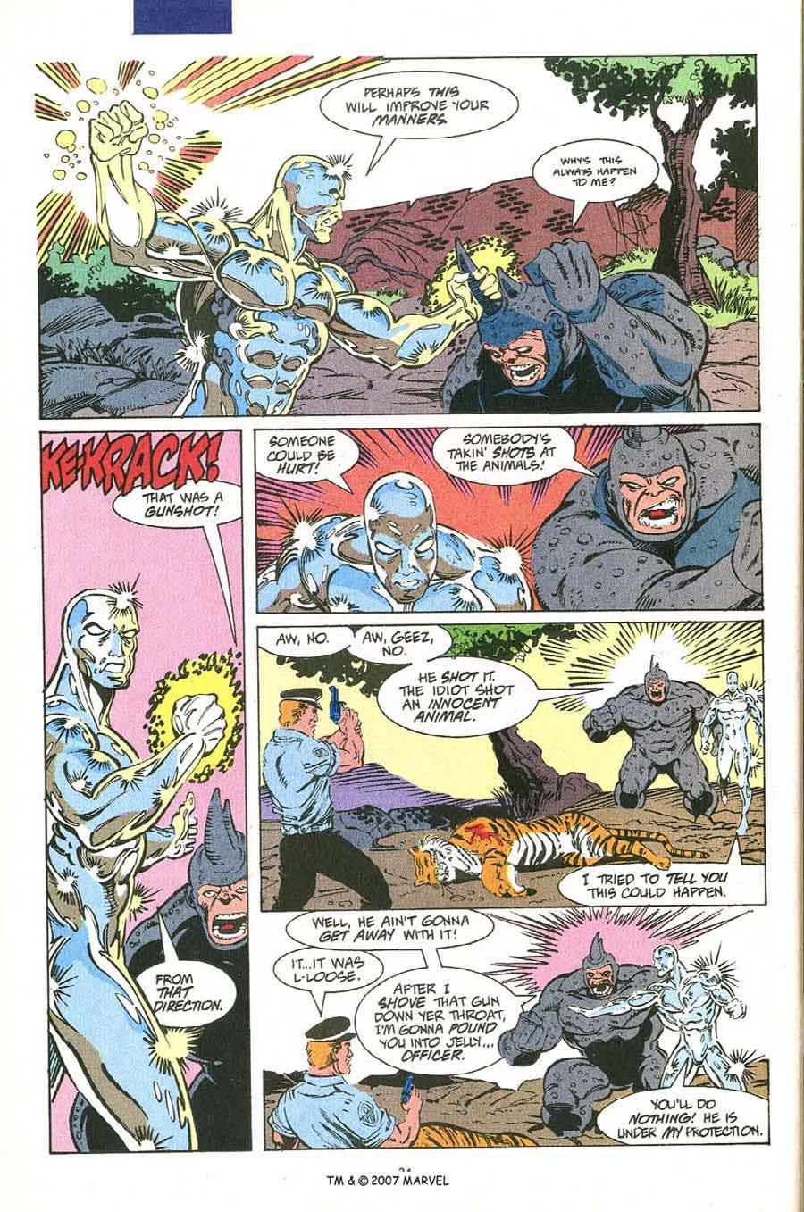 Read online Silver Surfer (1987) comic -  Issue #54 - 26