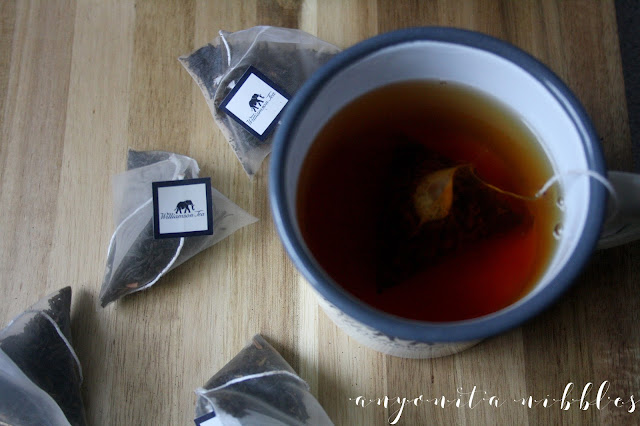 A fresh cup of Williamson Tea Kenyan Breakfast Tea from Anyonita-Nibbles.co.uk