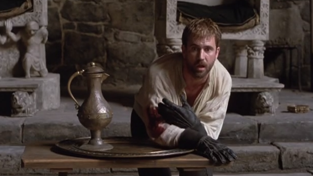 a movie critique of hamlet This hamlet finally stands or falls on mel gibson's performance the movie proceeds logically through its emotions we never feel.