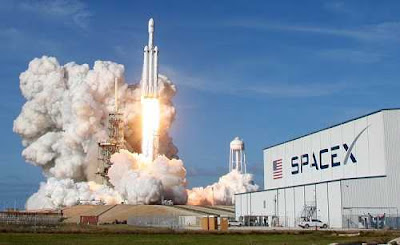 First commercial launch of SpaceX