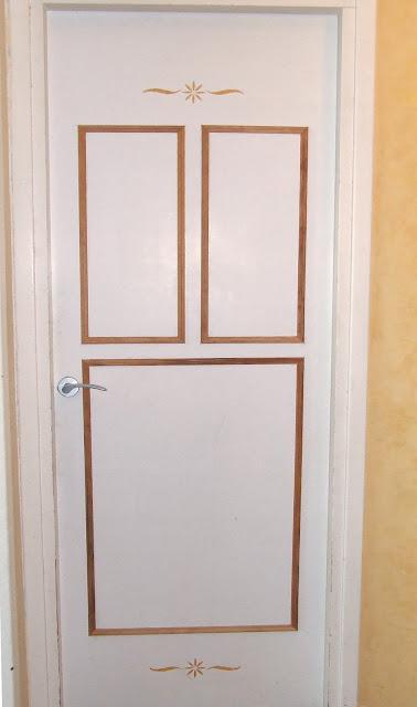 Las cosas de marita puertas decoradas for Como cambiar las puertas de casa