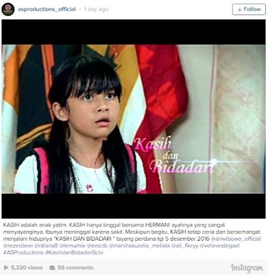 Jadwal Tayang Sinetron Kasih dan Bidadari SCTV