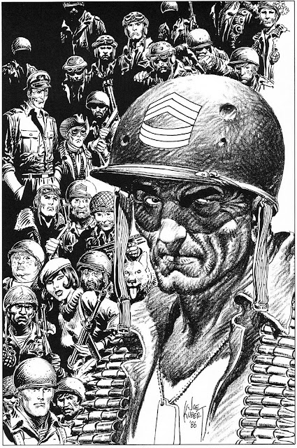 Favorite Comic Artist Countdown #6 - Joe Kubert!