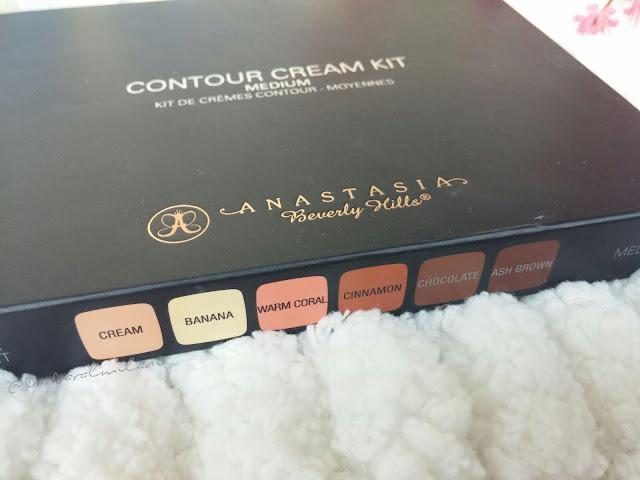 Embalagem da Contour Cream Kit Anastasia Bervelly Hills