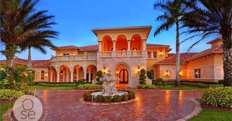 An Opulent Stunning Mediterranean Residence With