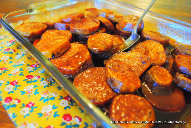 Baked Candied Sweet Potatoes