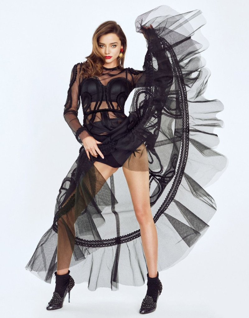 Miranda Kerr goes glamorous for Trends Health July 2015 magazine