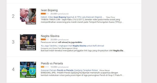 Video Iwan Bopeng Jadi Trending Di Google News Meski Media Mainstream Tak Memberitakannya