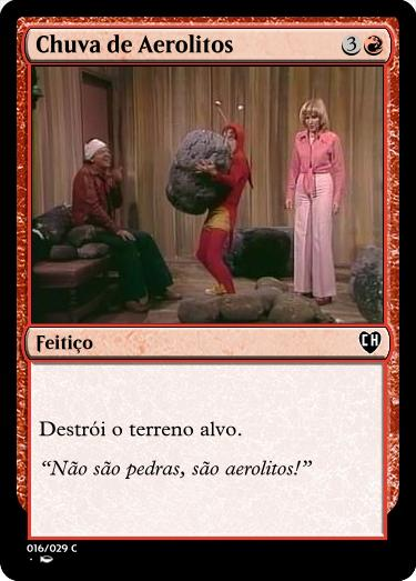 carta magic aerolitos chapolin